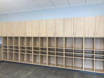 Cubbies for each individual students' belongings!