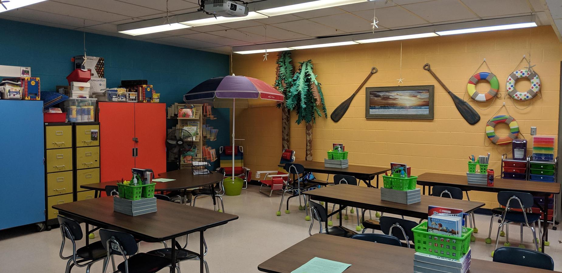 fourth grade classroom