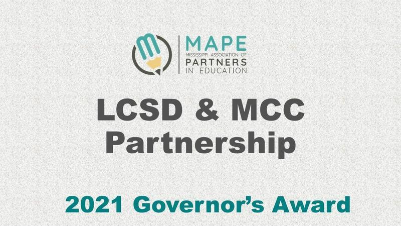 LCSD/MCC 2021 Governor's Partnership Award Graphic