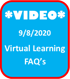video virtual learning icon