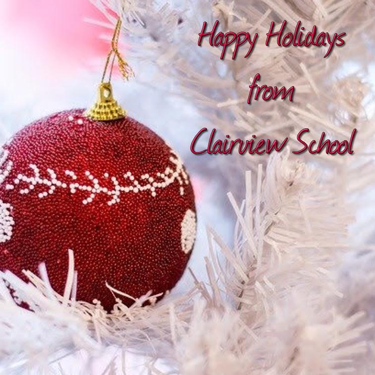 Happy Holidays from Clairview School