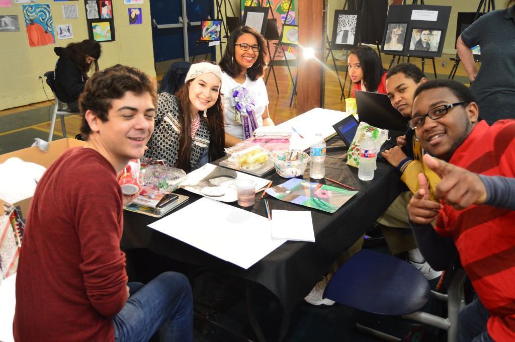 Senior Art Students
