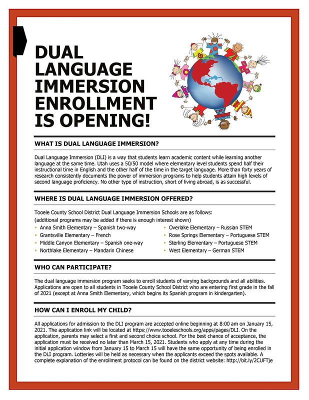 DLI Enrollment Jan 15 to March 15