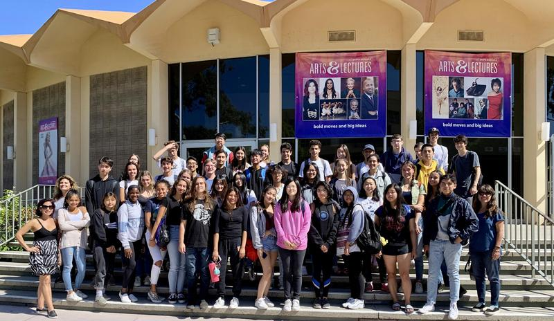 Students Visiting UC Santa Barbara