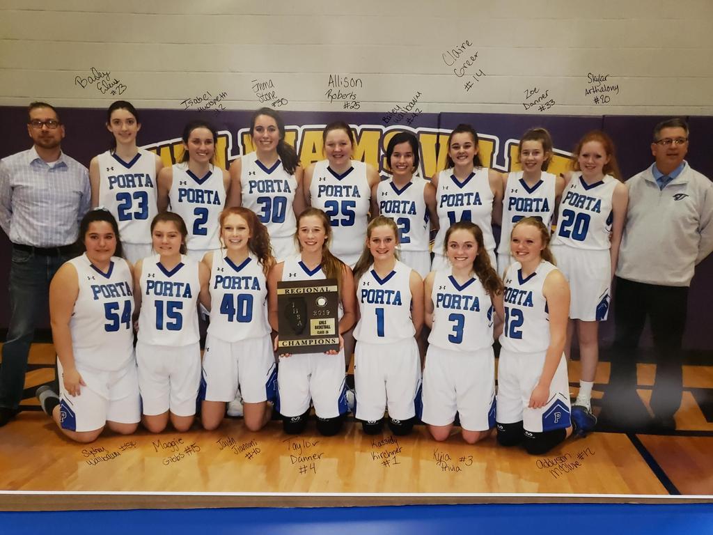 HS Girls Basketball Regional Champs 2019