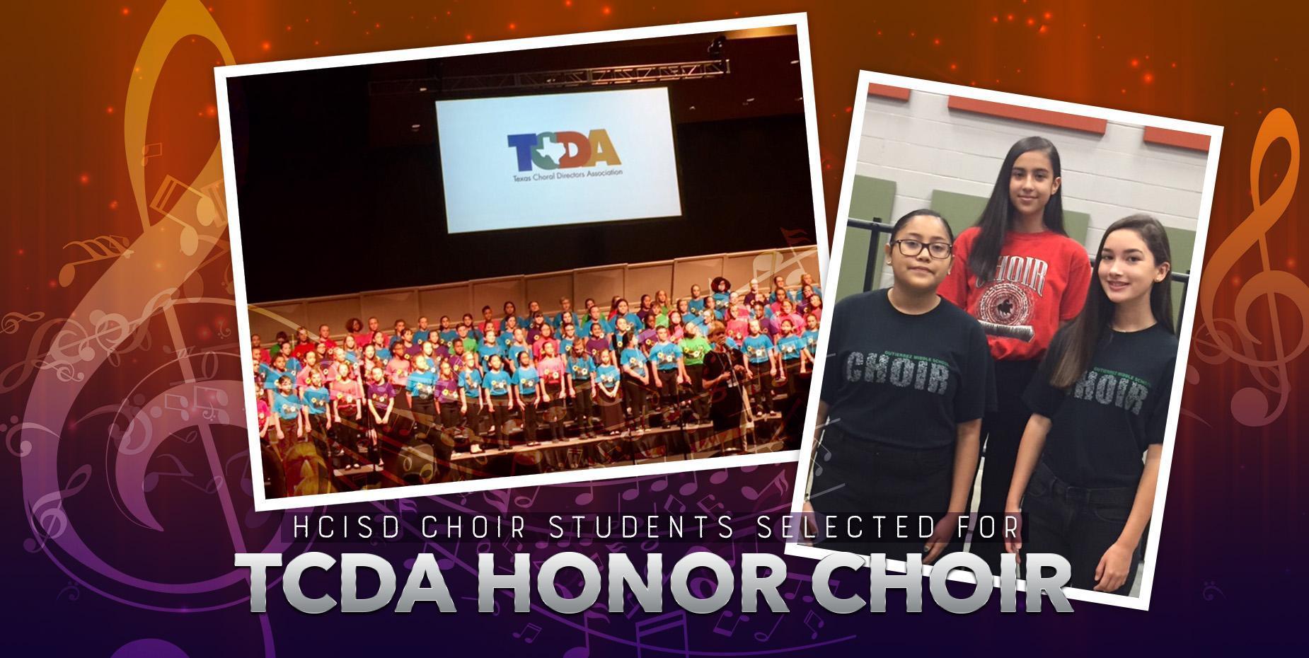 HCISD choir students selected for TCDA Honor Choir