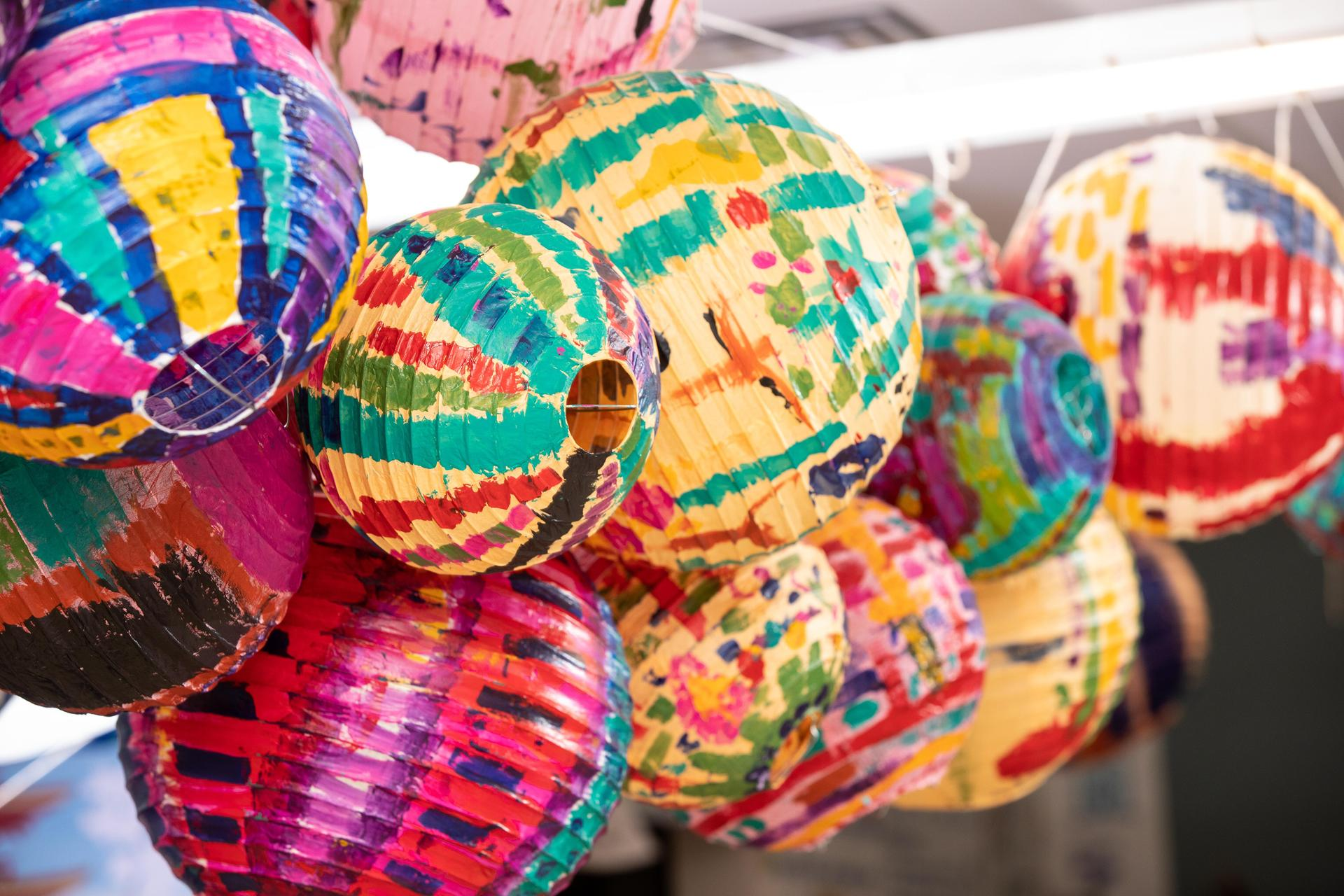 Lanterns created for Korean lantern festival