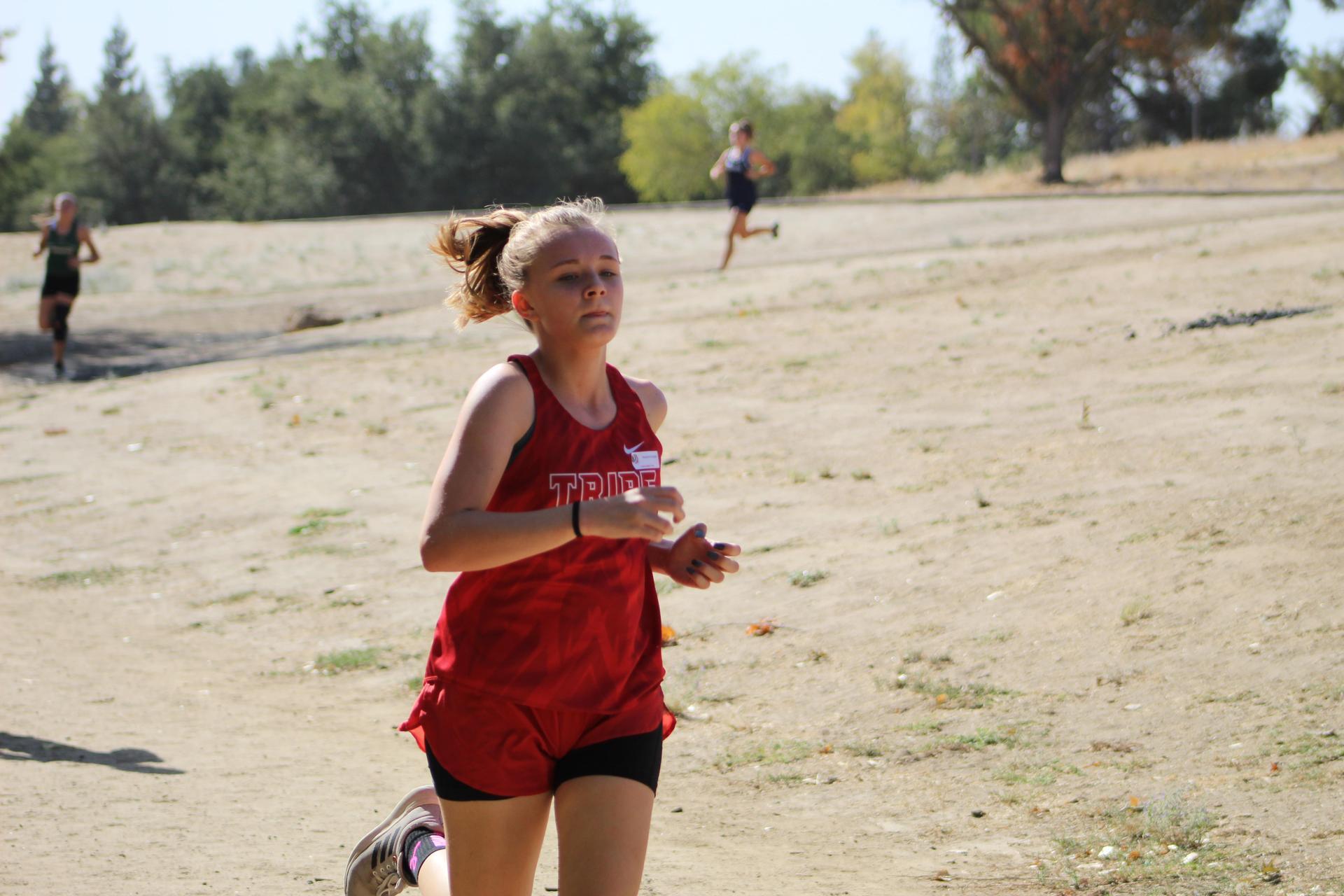Girls Cross Country Running