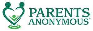 Logo for Parents Anonymous announcing a news article