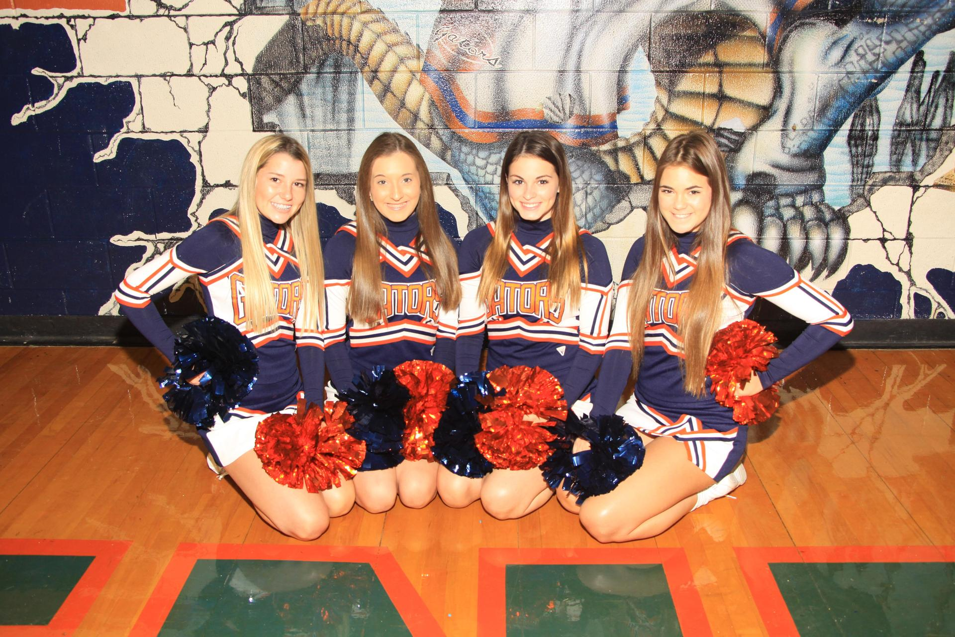 10th Grade Cheerleaders