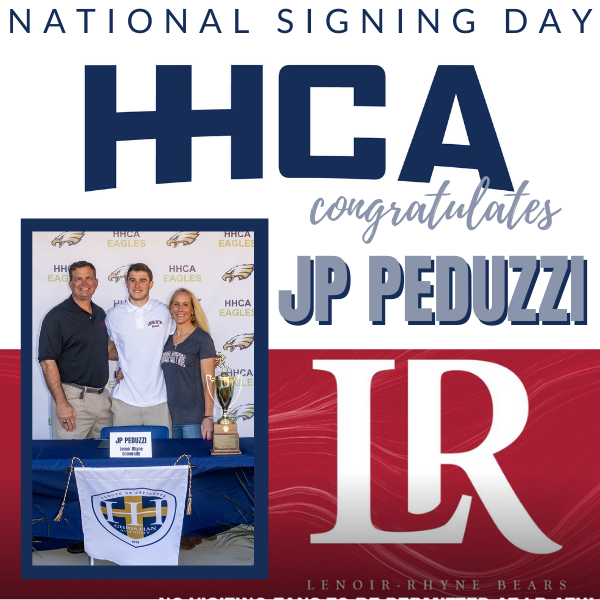 National Signing Day - JP Peduzzi
