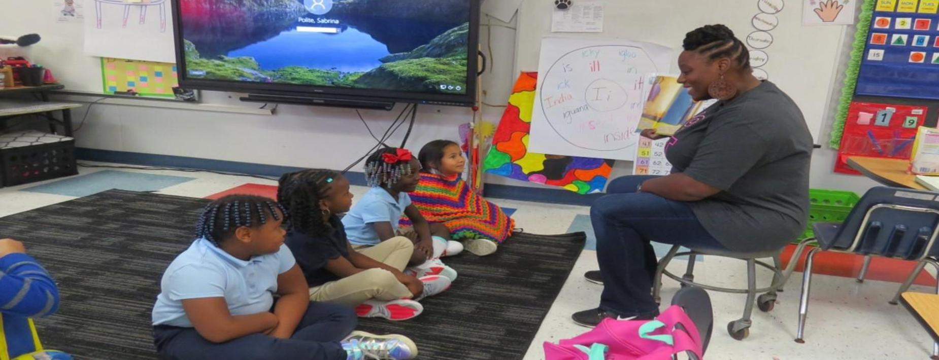 'Read To Me' an Interactive Reading Initiative for Hardeeville and Ridgeland Elementary Kindergarten Students