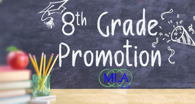 MLA 8th Grade Promotion Drive-Thru Celebration Featured Photo