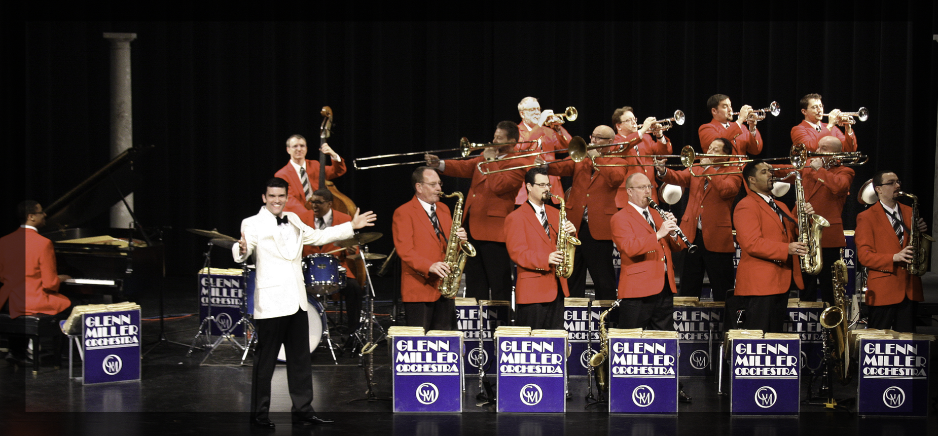 Photo of the Glenn Miller Orchestra