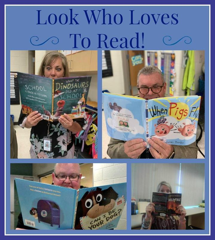 We Love To Read at Our School