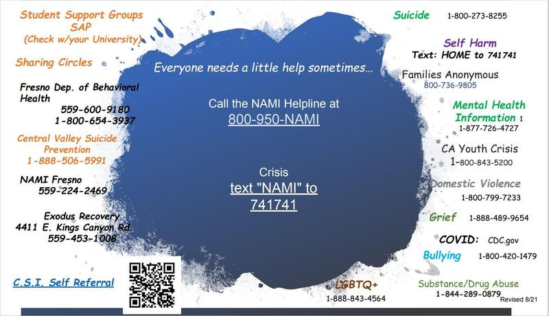 NAMI Club Support Doc