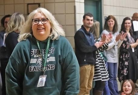 Sunset Elementary School Teacher Shawna Monroe Named EWU Teacher Of The Month Thumbnail Image