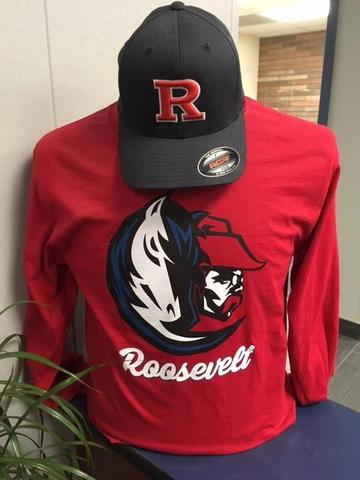 School spirit shirts and hats on sale all year long!