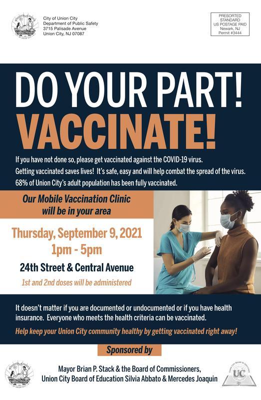 Vaccine clinic flyer