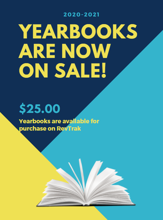 Yearbooks are now on sale!