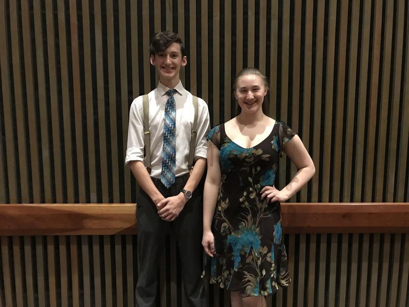 Brady Collins and Dori Shearer