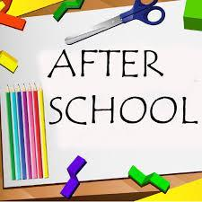 After School pencils, paper, and other school materials