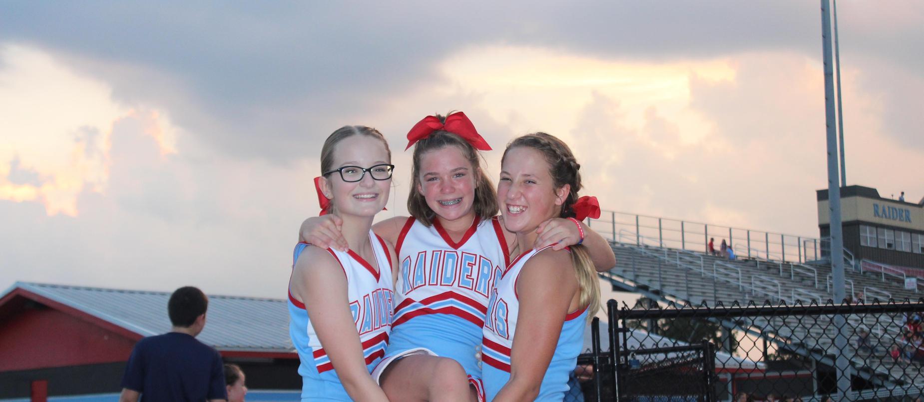 LMS Cheerleaders