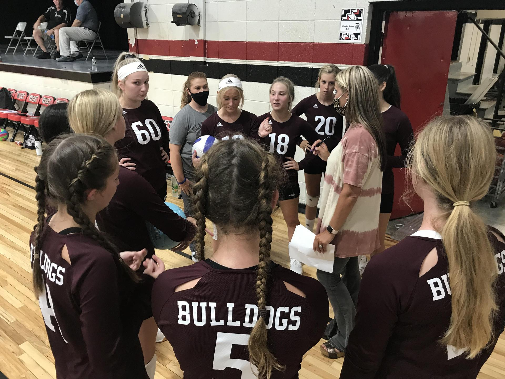 Clarkdale Volleyball Team