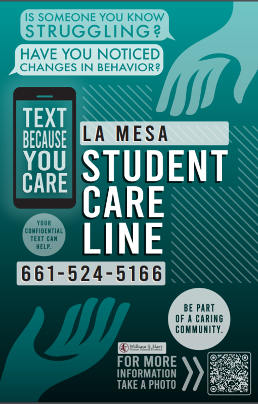 The NEW La Mesa Student Care Line Featured Photo