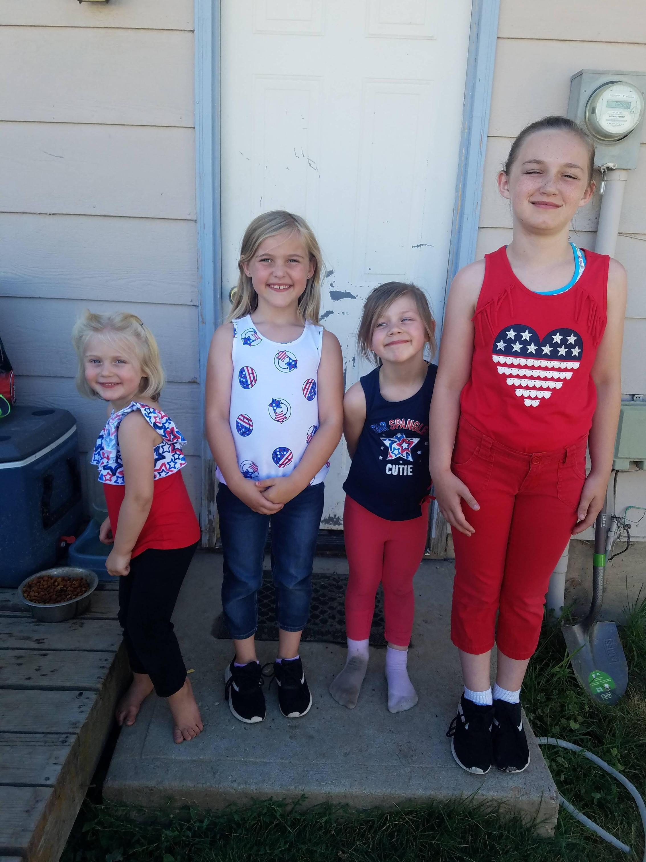 My oldest 4 girls