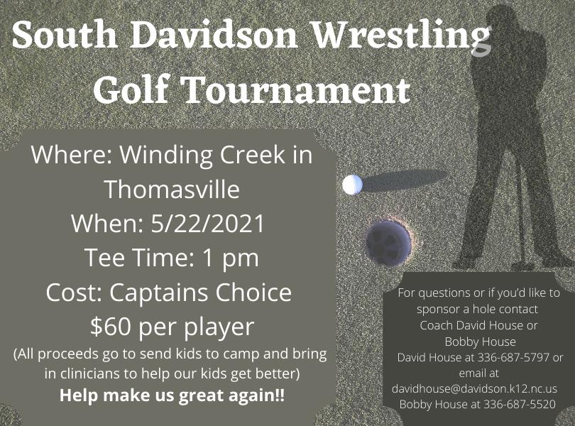 Wrestling Golf Tournament