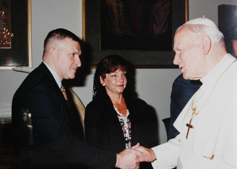 POPE JOHN PAUL II HS HOSTS GENERAL ANTHONY ZINNI ON VETERANS DAY Thumbnail Image