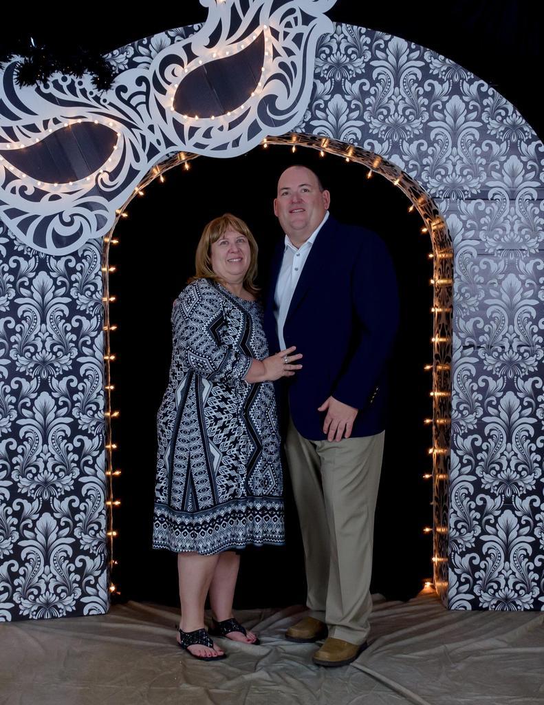 Mrs. Denton & spouse