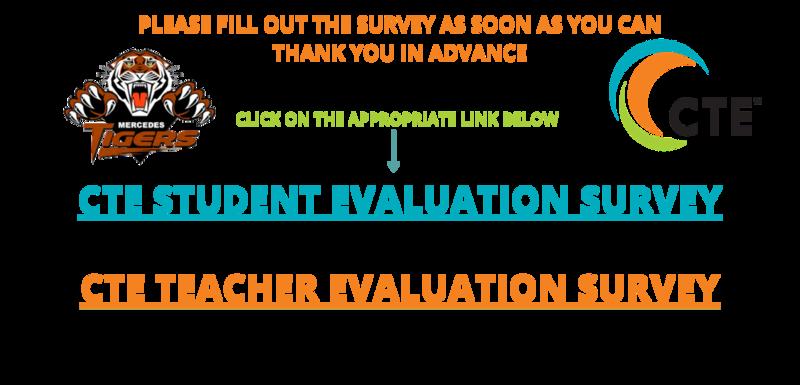 CTE STUDENT AND TEACHER EVALUATION SURVEY Featured Photo