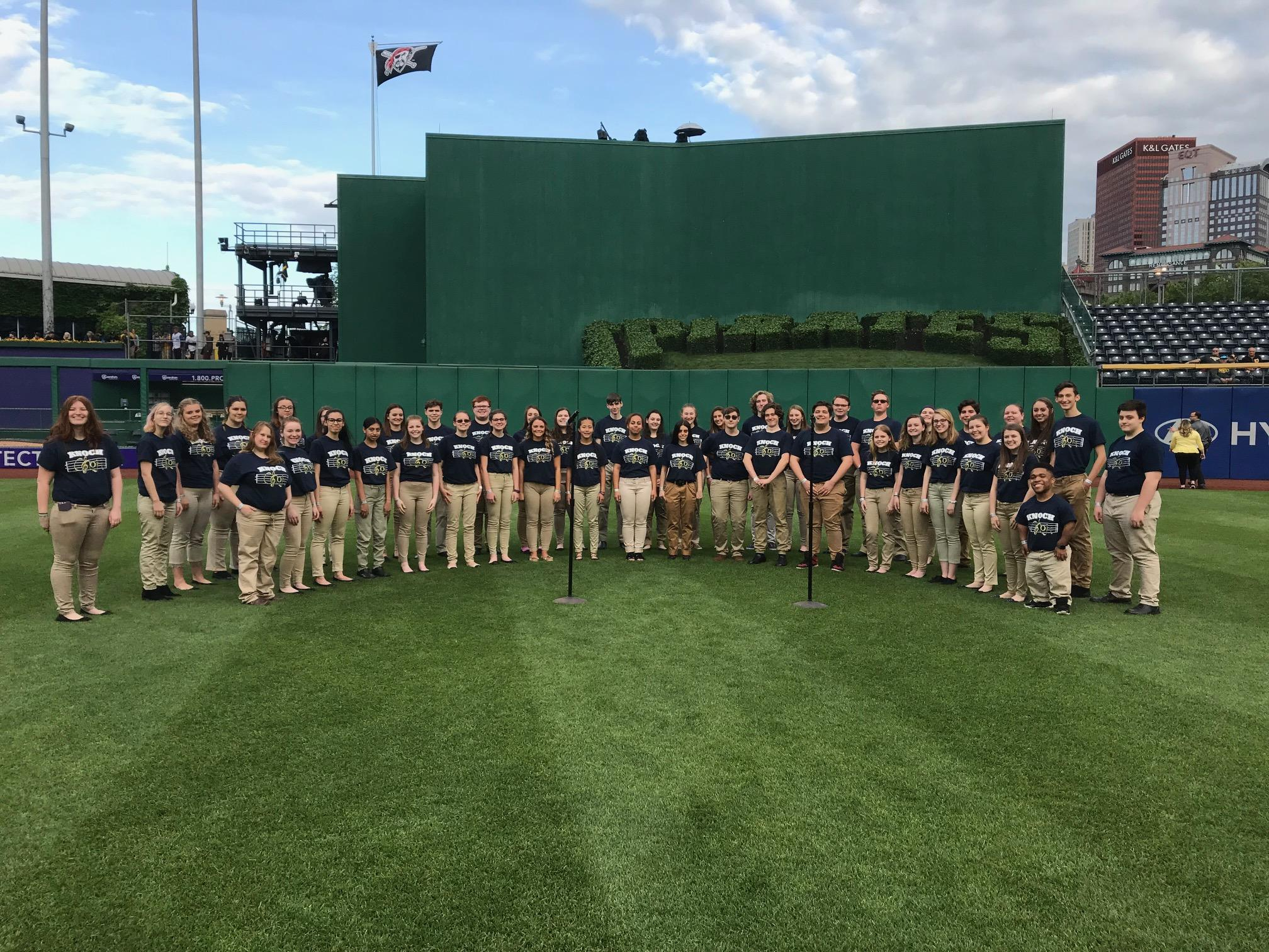 Pic of choir at PNC park