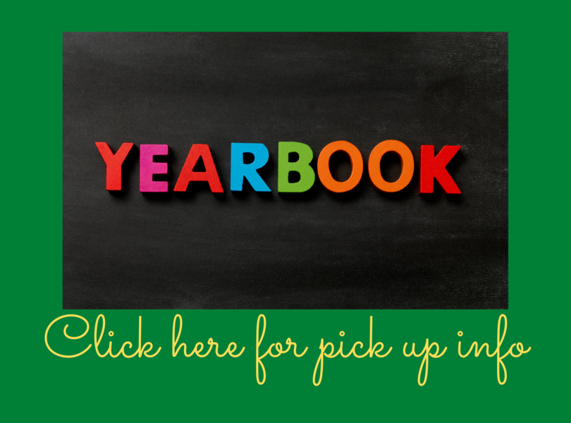 yearbook pick up info