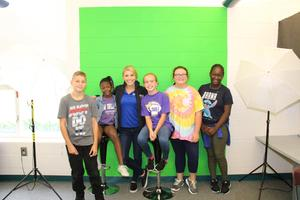Local News Anchor Visits B-L Elementary's School Of Journalism