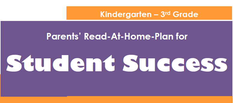 Book cover for the Parents' Read-At-Home-Plan for Student Success