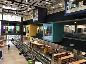 inside manor new tech middle school