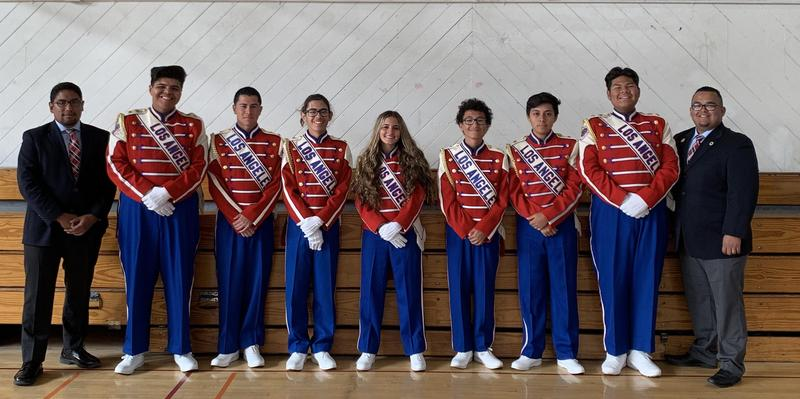 Seven Kennedy Band Students Perform at the Rose Parade Featured Photo
