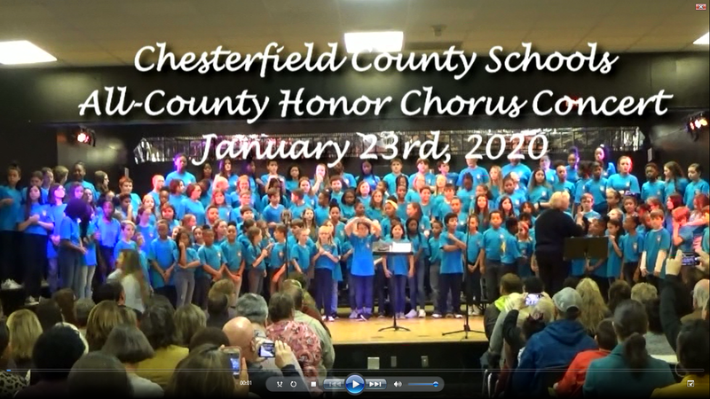 All-County Chorus DVDs available February 3rd. Featured Photo
