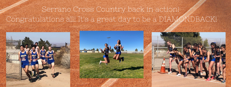 Serrano Cross Country back in action! Featured Photo