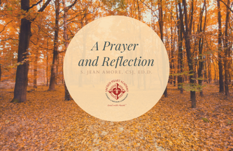 A Prayer and Reflection as We Enter Fall by S. Jean Amore Featured Photo