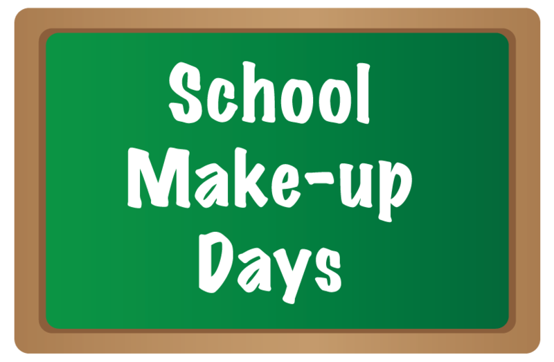 Weather Make-Up Days Announced Featured Photo