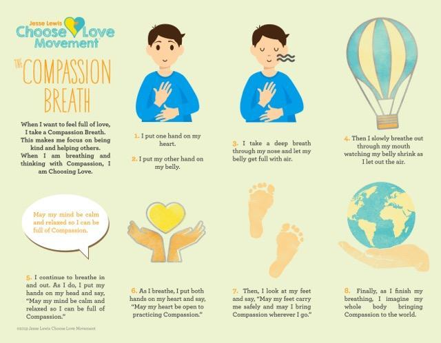 Practice your compassion breaths!