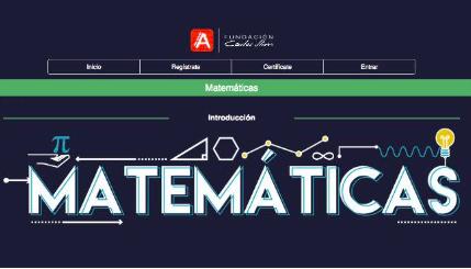 Curso gratis: Matemáticas en Aprende.org Featured Photo