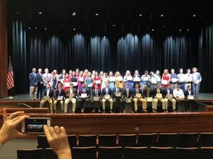DHS Awards for Seniors