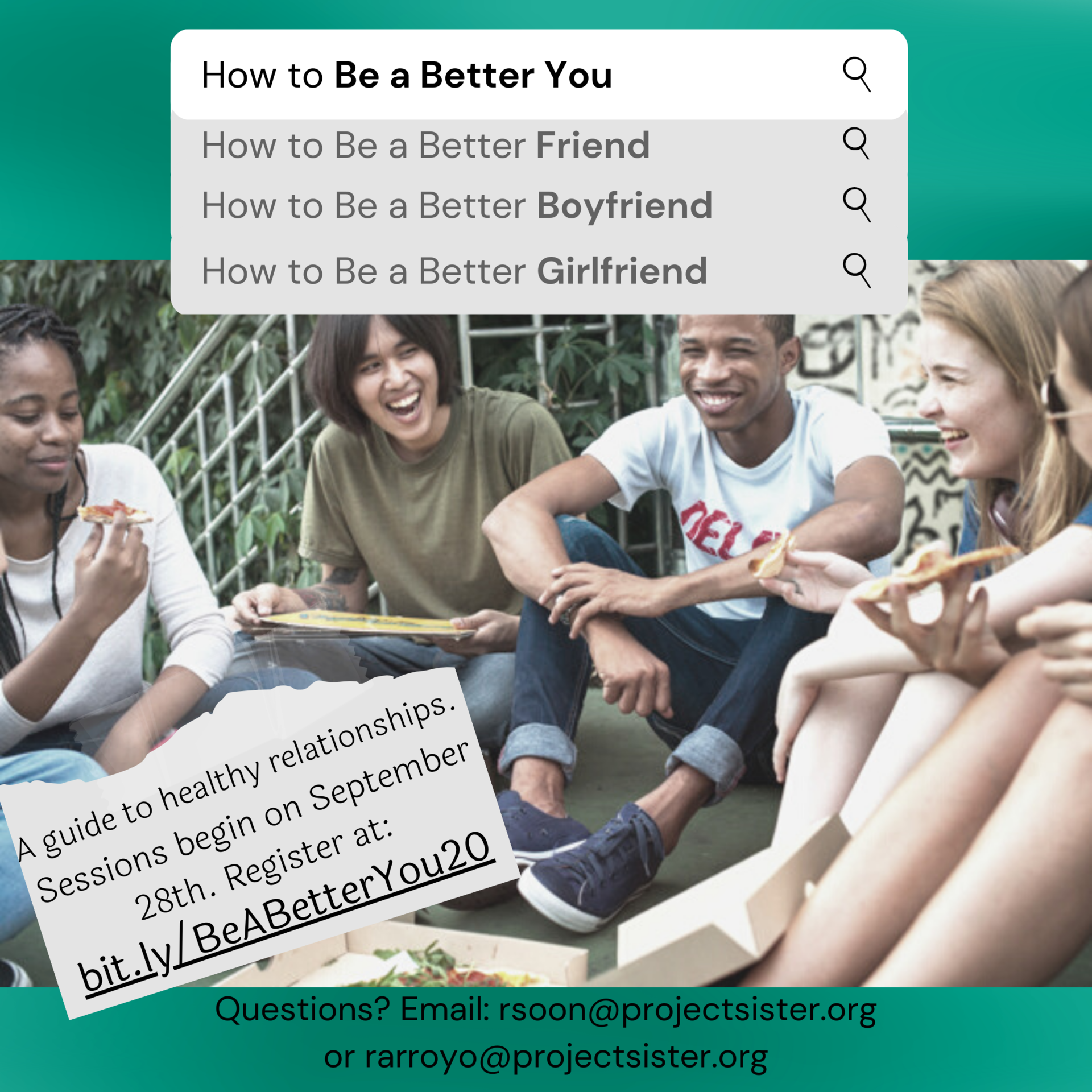 A Better You! A Healthy Relationships Workshop