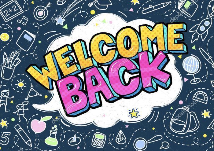 Welcome Back Bienvenido de Nuevo