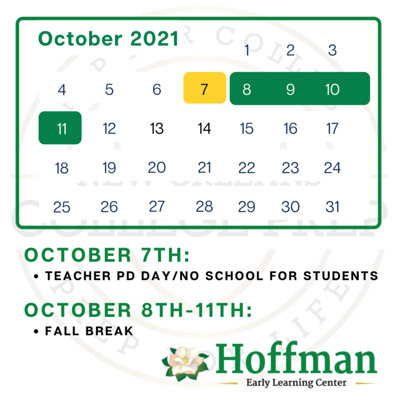 Mark your calendars, Hoffman families! 🗓 Featured Photo